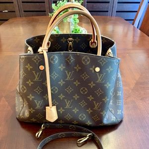 👑❤️Louis Vuitton Montaigne MM Bag 👑❤️